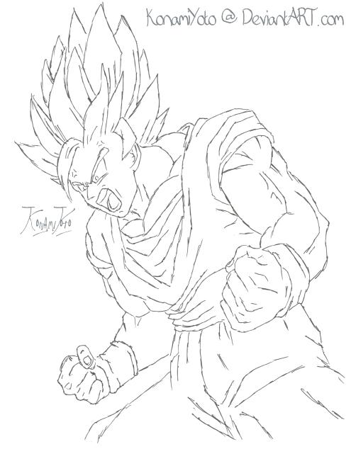 Zeichnen.. Goku_sketch_by_konamiyoto_123