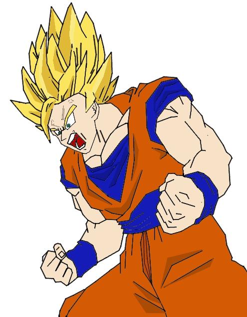 Zeichnen.. Goku_sketch_by_konamiyotocolour_152